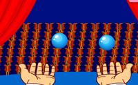 Quanto tempo podes manipular? Com quantas bolas podes fazê-lo? Tenta agora!