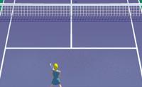 Que al está o teu ténis? Tenta bater o teu oponente para ganhares o jogo.