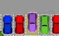 Tenta estacionar o carro no estacionamento dentro do tempo limite.