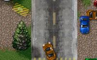 Tenta estacionar os carros antes do fim do tempo sem bater nos outros carros.