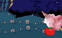 Atira comida ao monstro que aparece em todos os lados do jogo para que termines primeiro do que a m�quina mist�rio.