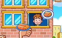 Tenta atirar fast-food aos teus clientes o mais rápido possível!