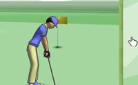 Tenta enfiar a bola no número mínimo de tentativas possível.