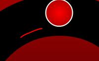 Há uma pequena linha entre habilidade e a sorte; podes atingir a bola verde comas linhas vermelhas?