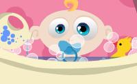 Garante que o bebé fica feliz e que assim fica. Fá-lo feliz clicando em todo o tipo de objectos.