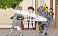 Quantas rondas aguentas numa luta de cavaleiros?