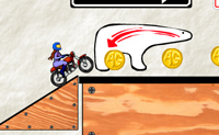 Tente desenhar a pista para que o veículo possa chegar ao final.