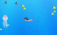 Mergulha até ao fundo e apanha todas as conchas que conseguires antes de o ar acabar. Quando atinges a superfície as conchas são contadas e o ar enche para um novo mergulho. Apanha lixo para pontos de bónus e não toques nos animais perigosos ou perdes as tuas conchas.