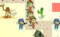 Defende a torre contra os inimigos, colocando soldados nos locais correctos para que eles parem o inimigo.