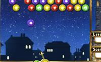Tenta apagar todas as bolas coloridas do céu. Logo que uma série de três bolas idênticas é criada, esta desaparece.