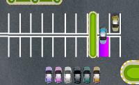 Tenta estacionar o carro o mais rápido possível.