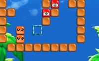 Este é um belo sucessor do jogo Blox. Neste jogo tens de colocar os blocos de cor idêntica juntos, por forma a removê-los, para que no fim o campo inteiro fique limpo. Clica num bloco, pressiona o botão esquerdo do rato e arrasta-o para a esquerda ou para a direita.