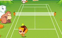 Este é um jogo de ténis entre um primitivo e três animais, que querem medir a sua força uns contra os outros. Escolhe o lado nativo, e tenta bater os 3 animais para passares ao nível seguinte. Diverte-te!
