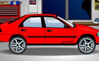 Neste jogo podes transformar o teu carro e escolher um fundo de que mais gostes.