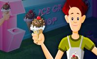 Serve aos teus clientes o gelado certo para que eles fiquem satisfeitos. Clica com o botão esquerdo nos itens, de acordo com as exigências dos clientes, na carta de gelados e depois na bolha de pedido dos clientes para os servires. Leva um ingrediente de cada vez.
