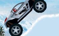 Entra no teu carro e conduz pelas montanhas. Tem atenção para não caíres! Conduzes por montanhas e vales e, por vezes, tens de saltar por cima de um buraco.