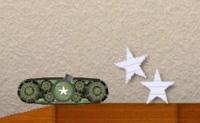 Manobra o teu tanque através do nível fino para chegares à saída. Apanha estrelas para ganhares fitas de bónus e extras. Usa o teu canhão rebentares em diferentes direcções se ficares preso ou se precisares de levar o teu tanque para novos lugares!