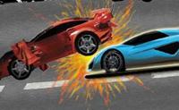 O teu objectivo é mandar abaixo os carros com alvos em cima deles. Eles precisam de ser destruídos. Podes fazer isso da forma que quiseres, mas serás premiado pela tua velocidade e eficiência.