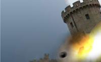 Neste jogo, deves destruir um castelo com um canh�o t�o humanamente quanto poss�vel em 60 segundos. Logo que a bola de canh�o expluda, causa um enorme dano nos tijolos mais pr�ximos, mas menos danos naqueles � volta do impacto. Quando um tijolo est� danificado, � destru�do independentemente do poder de impacto que sofra.