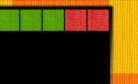 Ajuda a Molly a fazer cobertores de malha para mandar para o estrangeiro durante a II Guerra Mundial. No lado esquerdo do ecrã vês o padrão do cobertor. Combina o padrão do cobertor trocando os quadrados coloridos enquanto se movem para baixo desde o topo do teu ecrã.