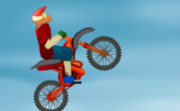 Conduz a tua moto de cross através destas perigosas colinas. Ganha o máximo de pontos executando acrobacias.