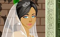 Tenta fazer com que esta rapariga pareça linda no seu dia de casamento!