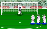 1. Escolhe a tua equipa favorita. 2. Afina o teu tiro apontando para o alvo na baliza e depois clica na potência. 3. Define a velocidade do teu chuto. 4. Selecciona o ângulo do teu pontapé e chutas automaticamente. Quantos mais golos marcares, melhor...