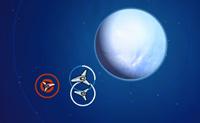 Defende o teu mundo para obteres uma pontuação alta! Ataca os asteróides para obteres pontos de bónus e usa os teus pontos para comprar mais unidades.
