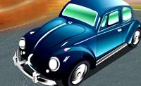 Conduz o teu novo Carocha na pista o mais rápido possível sem ser propenso a acidentes.