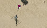 Tenta atingir a tua base enquanto abates tantas forças inimigas quanto possas. Ao abater inimigos ganhas poderes que podem ser usados para actualizares o teu helicóptero.