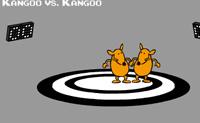 Este é um jogo de dois jogadores. O Jogador 1 deve ser colocado no lado esquerdo do teclado, o Jogador 2 deve ser colocado no lado direito. Tenta mandar o teu oponente para fora do campo.