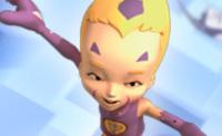 Xana enviou um Manta para destruir Odd. Usa o rato para ajudar o Odd a manobrar a sua tábua voadora para apanhar todas as bombas Manta. Se a bomba atingir o chão, manda poder para a tábua do Odd, fazendo-o cair.