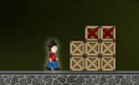 Move os cubos com cruzes vermelhas de tal maneira que o Nick chegue ao seu destino dentro do tempo dado, e passas ao próximo nível.