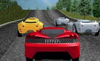 Neste jogo de Hot Wheels tenta chegar à linha da meta em primeiro lugar com o teu Ferrari!