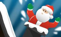 Atira bolas de neve às pessoas que aparecem das chaminés. Quanto mais rápido as atingires mais pontos recebes! Evita acertar no Pai Natal com uma bola de neve: se o fizeres três vezes o jogo acaba! Tens de ganhar pontos suficientes para passar ao nível seguinte.