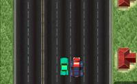 Ooops, os teus travões já não trabalham mais! Tenta desviar o teu camião enorme e cruza a linha de meta.