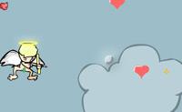 Ajuda este pequeno Cupido a apanhar corações e a perseguir pequenos demónios. Quando acertares numa ampulheta, ganhas 5 segundos.