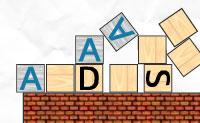 Faz com que os cubos contendo um F ou um D apontem e atirem em cubos que têm a mesma letra dentro.