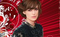 Olha para a imagem desta bela actriz. O seu nome  Keira Knightly. Keira nasceu em Londres e  bem conhecida pelo seu papel de Elizabeth Swann nos Piratas das Carabas. Ela tambm actuou em O Amor Acontece e interpretar o papel de Eliza Doolittle no filme My Fair Lady, a estrear brevemente. Torna esta grande actriz mais bela neste jogo. Pode mud-la da maneira que quiseres. Podes mudar o seu penteado e cor de cabelo, as roupas e a cor das suas roupas. Podes mesmo escolher a cor dos seus olhos e da pele, a cor do seu batom e a cor da sua sombra dos olhos. Depois de teres feito estas mudanas, podes tambm escolher um fundo. Diverte-te com a Keira!