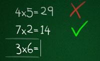 Um belo jogo de calcular, no qual tens de digitar as respostas correctas para as somas o mais rápido possível. É também bastante instrutivo para os pequenos jogadores!