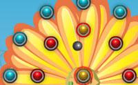 Tenta atingir todas as bolas vermelhas para terminares os níveis. Tens 10 tentativas por nível. As bolas verdes valem um poder. Boa sorte!