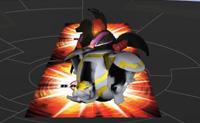 Clica em INICIAR, e 3 bolas de batalha Bakugan aparecem. Escolhe uma e vai para a arena! Rola a bola Bakugan com a ajuda da barra de espaços. É importante pressionar a barra de espaços no momento certo para atingir a velocidade óptima. Quando a bola aterra numa 'Carta Porta', abre-se o teu Poder-G, bem como o Poder-G do teu oponente. Diverte-te!