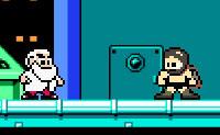 Um divertido clone de Mega Man, com o Sparta Man como novo super-herói! Ao contrário de Mega Man, o Sparta Man destrói os seus inimigos simplesmente saltando para cima deles, atravessa paredes como se não fosse nada e ainda atira picos para o chão. Diverte-te com este curto mas divertido jogo.