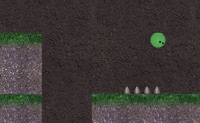 Um jogo de 15 níveis no qual tens de guiar uma minúscula solitária criatura através de todo o tipo de quartos perigosos, à procura de alguma companhia.