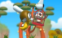 Resgata os animais que estão presos em jaulas e evita todos os obstáculos. Pressiona a barra de espaços para saltar e clica para chamar um pequeno amigo verde para ajuda, para que possas saltar mais alto.