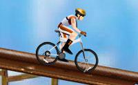 Completa o curso na tua bicicleta de montanha e cruza a meta dentro do tempo limite. Exibe os teus melhores saltos e piruetas para pontos extra, mas cuidado para não caires: custa-te tempo.