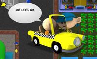 És um taxista na cidade de Lotopolis. Apanha os passageiros e leva-os ao seu destino e apanha as moedas. Não batas nos outros carros o conduzas por cima dos pregos ou outros objectos estranhos na estrada, pois isso reduz a tua pilha de dinheiro. E garante que foges à polícia!