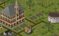 Tens a teu cargo uma pequena cidade. Usa os recursos para construir fábricas, indústrias e habitações e tornar as tuas cidades ricas.