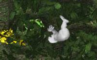 Ajudas Yeti a ir para cima balanceando-se de ramo para ramo? Não te balanceies mais de três vezes no mesmo ramo, senão este desaparece.