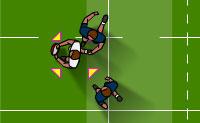 Estás a fim de um duro jogo de rugby? Este é o local correcto para iniciar! Placa os teus oponentes e leva a bola para além da linha. Diverte-te!